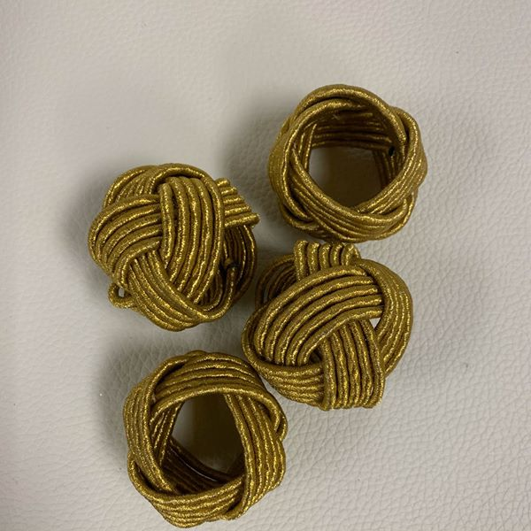 #1260 Set of 4 Napkin Rings $5