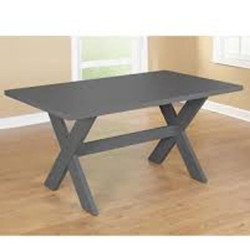 #209 Gray Dining Table $90