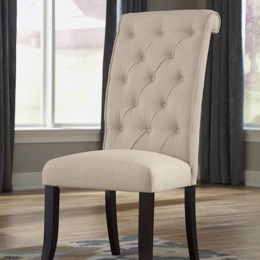 #304 Cream Dining Chairs (Set of 6) $380