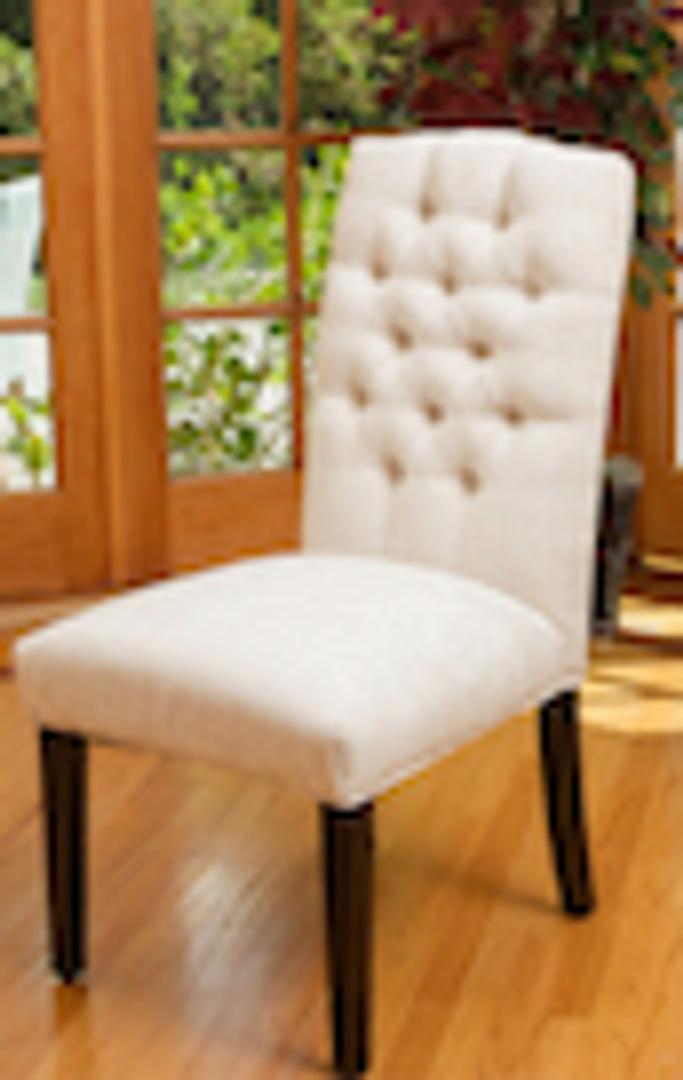 #291 White Dining Chairs (Set of 4) $390