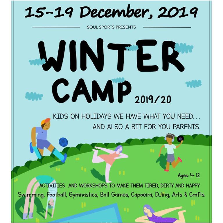 2019/2020 Winter Camp 15-19 December