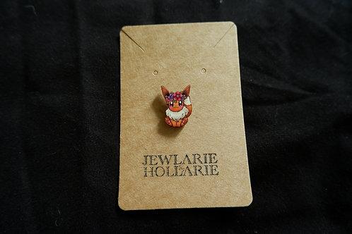Eve'lorescent Pin Badge