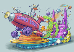 float_spacecadets