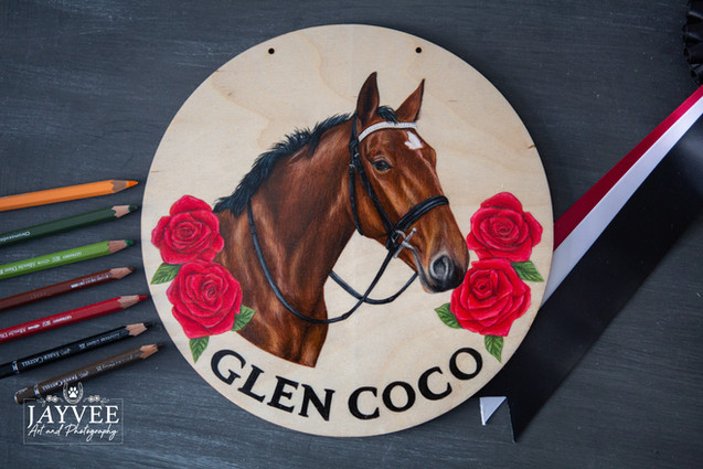 Glen Coco, Plywood 25cm, extra imagery