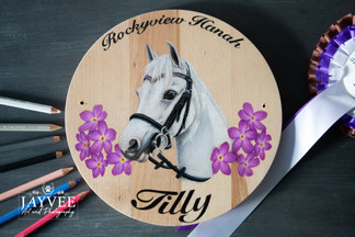 Tilly, Hardwood 25cm, Extra Imagery & Text