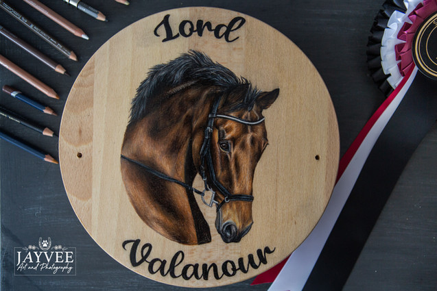 Lord Valanour, Hardwood 25cm