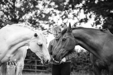 Sharon, Connie & George