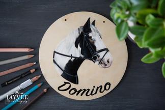 Domino, Plywood 20cm