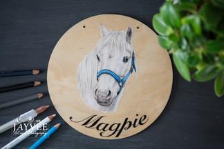 Magpie, Plywood 20cm