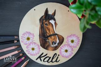 Kali, Plywood 20cm, extra imagery