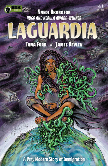 Dark Horse's Laguardia Cover by Tana Ford