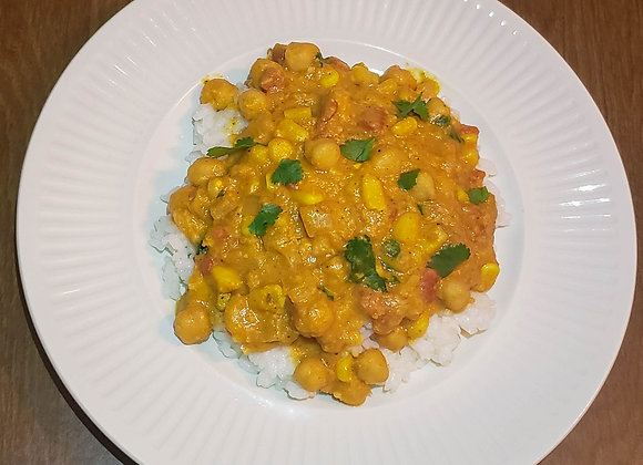 Summer-Inspired Corn Curry