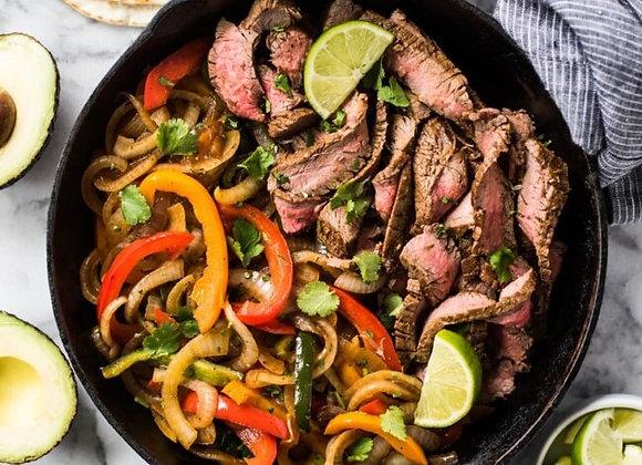 Flank Steak Fajita Bowl