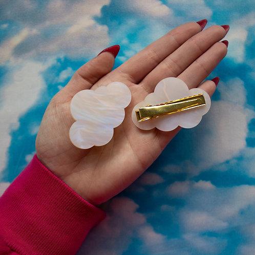 Cloud Hair Clips