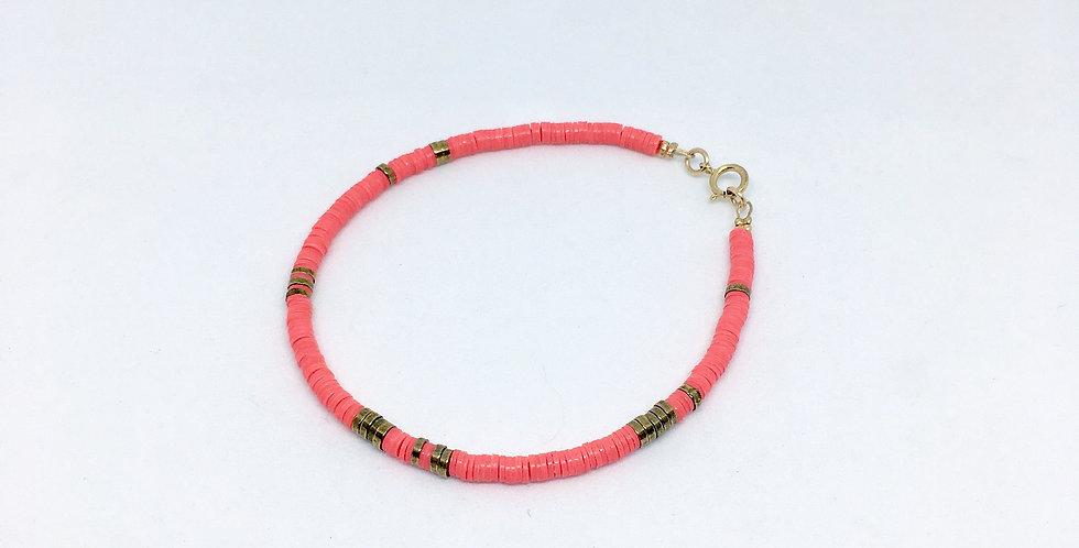 Bracelet Shakku corail