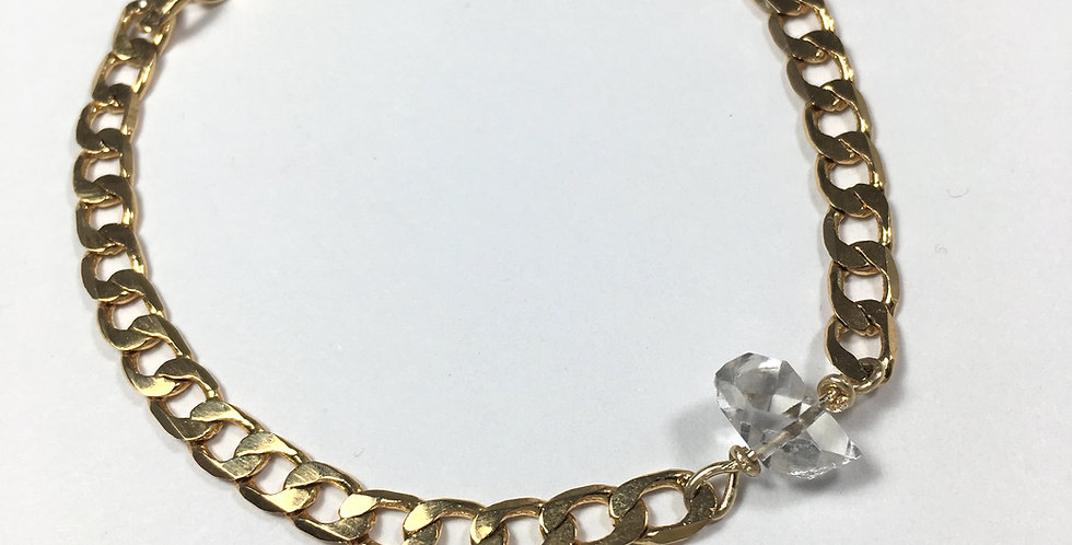 Bracelet gourmette Hope