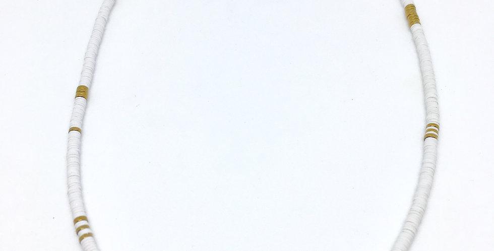 Collier Shakku Blanc