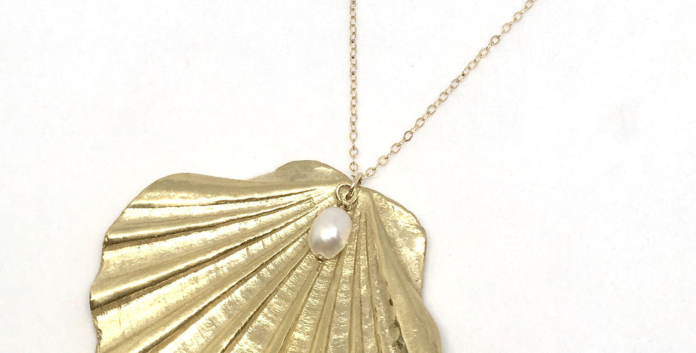 Collier Shell et Perle