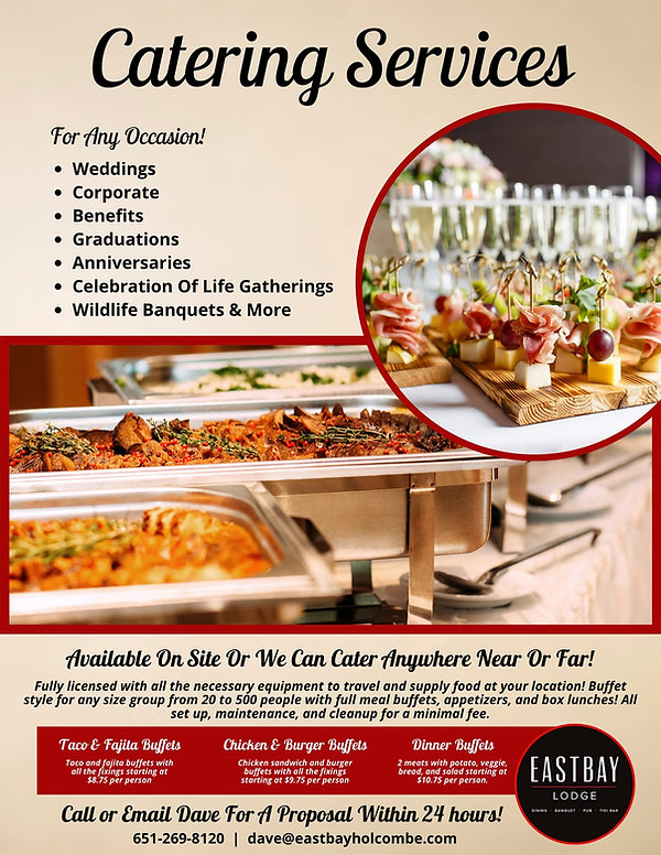 Catering Info