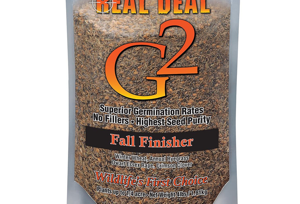 Real Deal G2 Fall Finisher 4lb – ¼ Acre