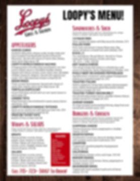 Loopys menu.jpg
