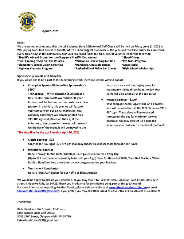 2021 Golf Business donation letter (1).j