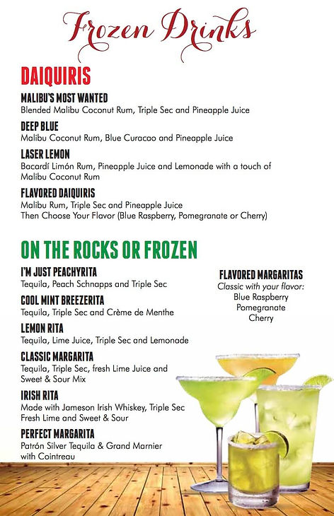 Drinks Menu 8