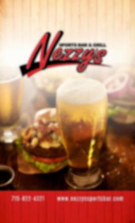 nezzys menu 1