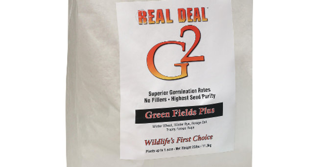 Real Deal G2 Green Fields Plus 25lb – 1 Acre