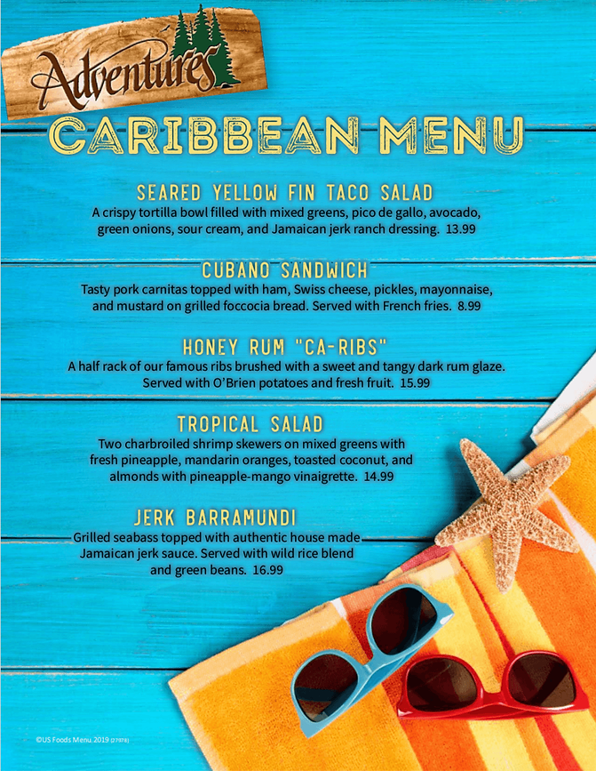 Adventures Caribbean Menu.png