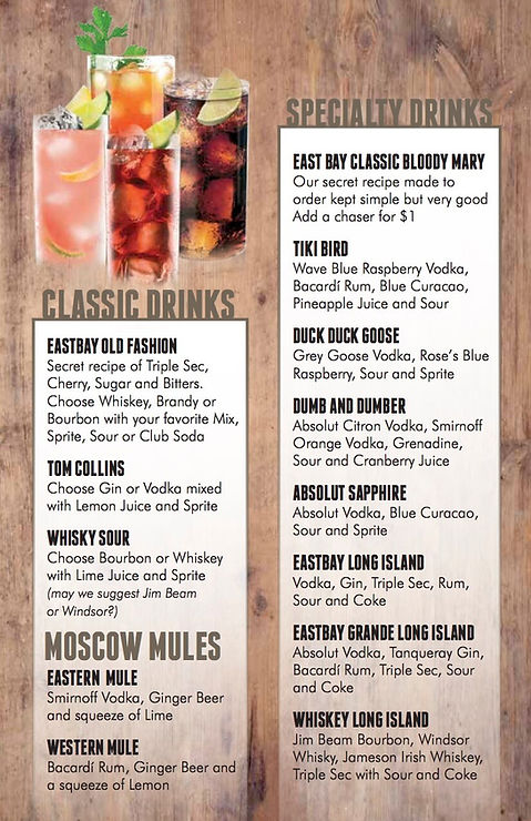 Drinks Menu 4