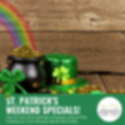 Chateau St. Patrick's Day Specials! (1).