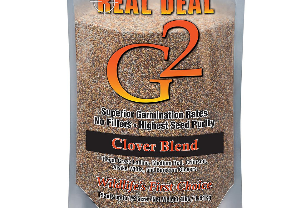 Real Deal G2 Clover Blend 4lb – ½ Acre