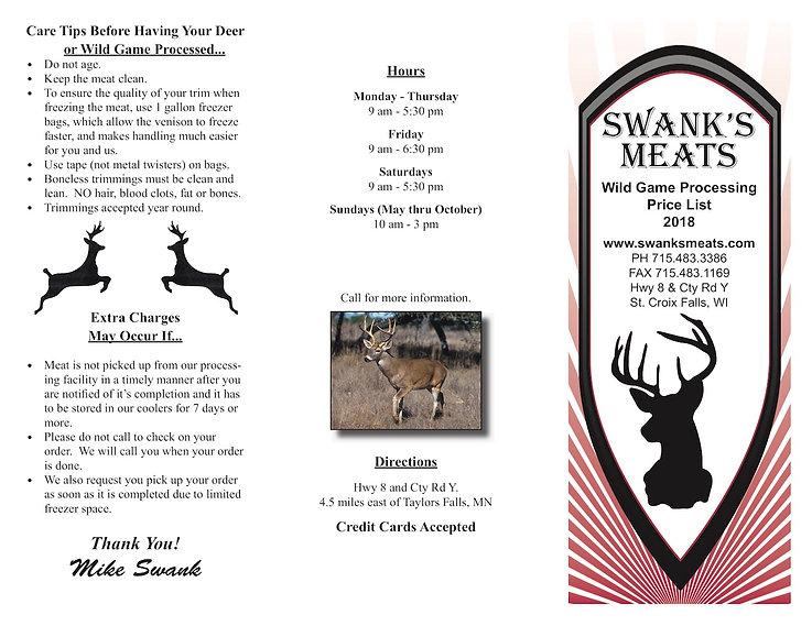 deer brochure