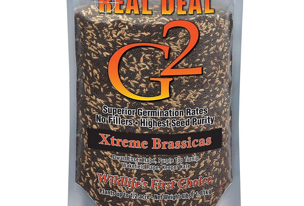 Real Deal G2 Xtreme Brassica 4lb – ½ Acre