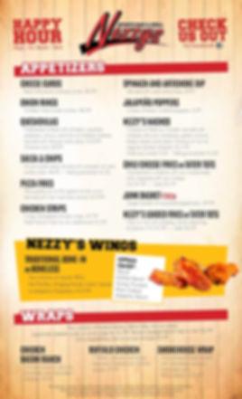 nezzys menu 2