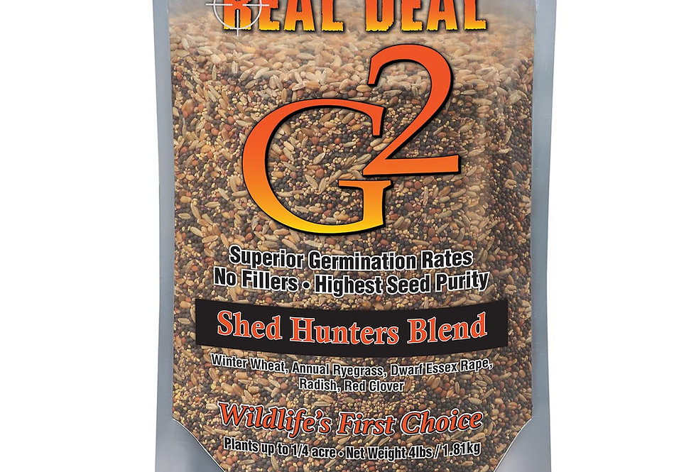 Real Deal G2 Shed Hunters Blend 4lb – ¼ Acre