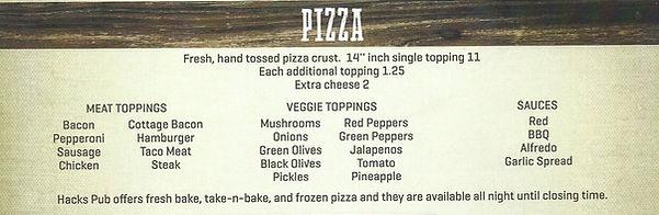 Pizza in Milltown
