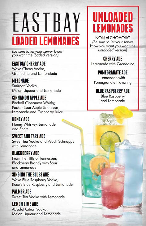 Drinks Menu 7