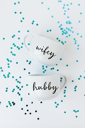 Wifey & Hubby Mugs