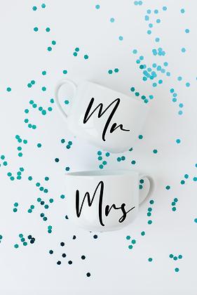 Mr. & Mrs. Mug