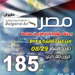 مصر * شهر 8 / 2020 - 185 دينار