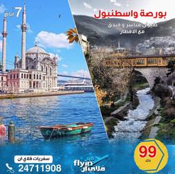 بورصة واسطنبول * شهر 11 / 2020 - 7 أيام - 99 دينار