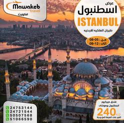 اسطنبول * شهر 8 / 2021 - 8 أيام - ابتداء من 240 دينار