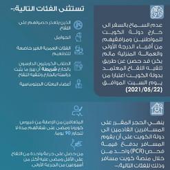 اجراءات السفر الجديدة في مطار الكويت الدولي