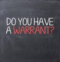 CA Warrant Attorney