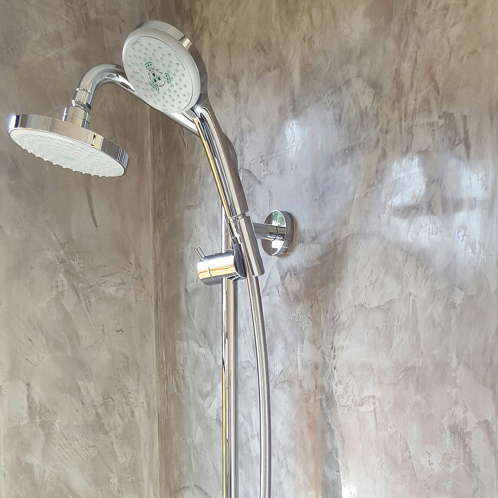 Venetian Plaster shower