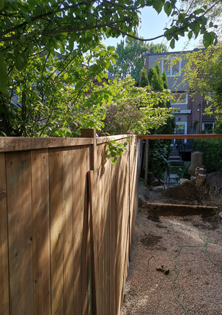 Top Sill for Fence