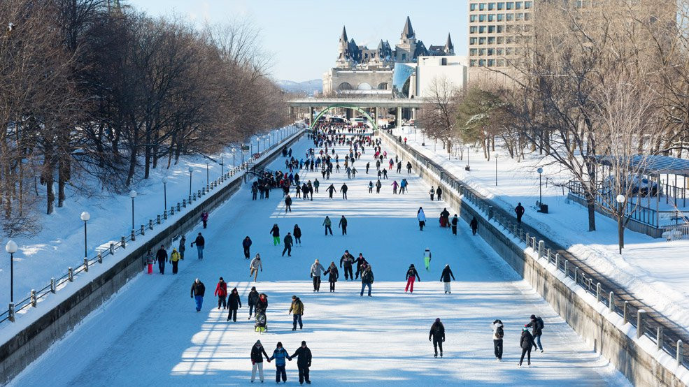 Rideau Canal - Winter Ice Skating