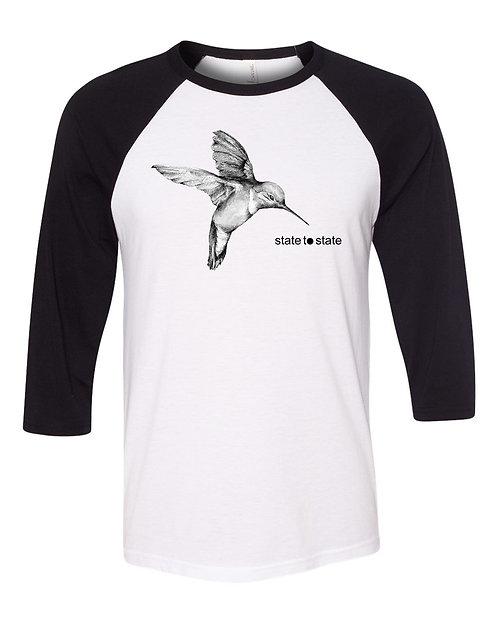 Hummingbird Baseball Tee